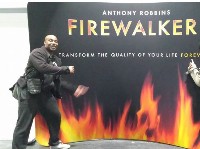 Tony Robins Firewalker